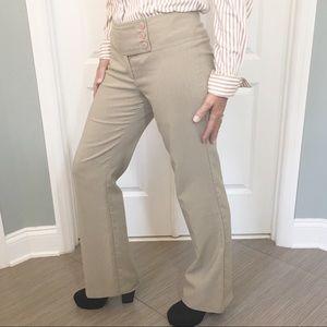 Star City Midrise 3 Button Tan Junior Size Slacks